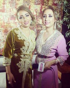 Safaa et Hanaa habillées par MAUTASSIN lors du shooting photo du magazine Lalla Fatima, février 2016.  Quel est votre article préféré ?  #MAUTASSIN #Hautecouture #shooting #safaahanaa #février2016 #fashion #moroccandress #nouvellecollection