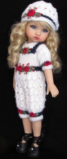 Jumpsuit,,hat set made for Effner Dolls