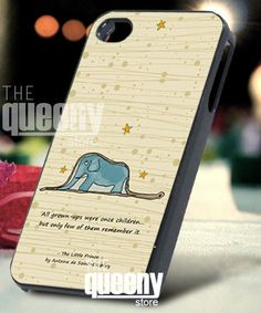 The Little Prince Quote  iPhone 4/4s/5 Case  by QueenyStore, $15.00