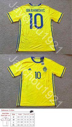 004a487d01f Soccer-National Teams 2891  Zlatan Ibrahimovic Sweden National Soccer Team  Manchester United Jersey S