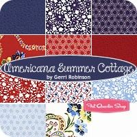 Americana Summer Cottage Fat Quarter Bundle<BR>Gerri Robinson for Red Rooster Fabrics Red Rooster, Fat Quarter Shop, Fat Quarters, Quilting Fabric, Quilts, My Love, Fabrics, Collections, Cottage