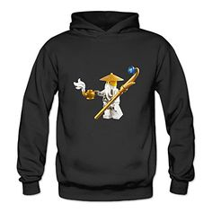 BOOMY Ninjago Masters Of Spinjitzu Womens Hooded Sweatshirt SizeL *** Click image for more details.