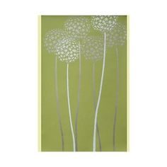 Flower stencil, large stencil designs, flower stencils for wall... ❤ liked on Polyvore