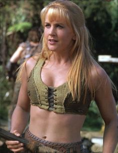 Xena And Hercules Planet Xena Warrior Princess, Warrior Girl, Badass Women, Sexy Women, Paddy Kelly, Blonde Actresses, Female Armor, Supergirl, Fashion Models