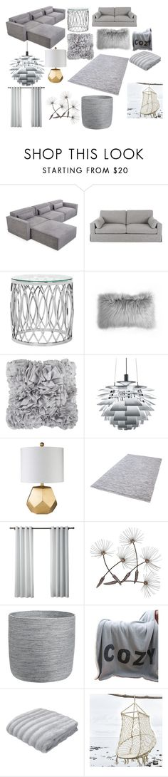"""My future living room"" by thefabulousuniverse on Polyvore featuring interior, interiors, interior design, home, home decor, interior decorating, Gus* Modern, Home Decorators Collection, Safavieh and Décor 140"