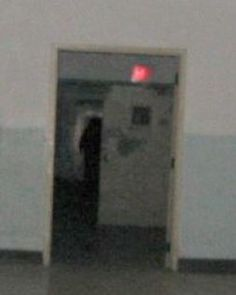 The infamous picture of a shadow person shot by the TAPS team.