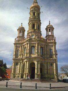 Templo de San Antonio. Aguascalientes. Mexico