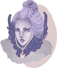 Raven Priestess by FellenTym on DeviantArt
