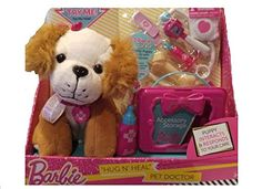 Barbie Hug n Heal App-rific Pet Doctor Kit Brown and White Dog >>> This is an Amazon Affiliate link. Be sure to check out this awesome product.
