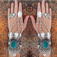 Boho bohemian gypsy style jewelry accessories. For more follow www.pinterest.com/ninayay and stay positively #pinspired #pinspire @ninayay
