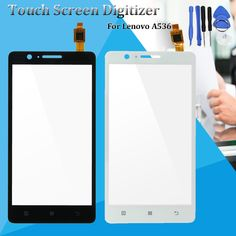 Touch Screen Digitizer Glass Replacement With Tools For Lenovo A536