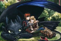 Fan Art Friday: How to Train Your Dragon by techgnotic on DeviantArt