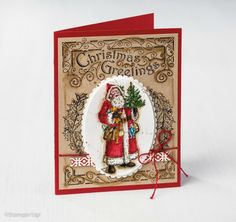 Father Christmas from Stampin Up