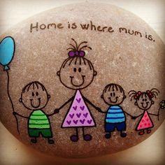 #art #beach #brothers #drawing #family #familie #heart #ilovemyfamily #love #maling #mother #ilovemymom #nature #naturerocks #paintingrocks #rock #rockrocks #rocksrock #stone