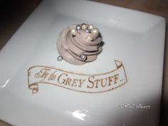 The Grey Stuff at Be Our Guest Restaurant at the Magic Kingdom in Walt Disney World