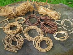 Make Your Own Rope | Bushcraft Survival Skills: A Great Mindset for…