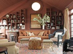 farrow and ball book room red - Google Search