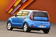 Image result for Kia soul electric photos