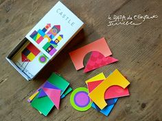Pocket Castle Toy Printable - The Crafty Crow