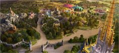 New Fantasyland - Expansion for Disney World's Magic Kingdom - Phase 2 opens Dec 2012