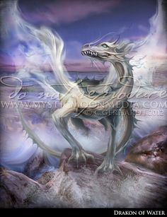 Elemental Dragons Collection.. WATER by mysticmoonmedia on Etsy