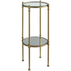 Clara Pedestal - Gold. Pier1.com in-store pickup today. $99.95 + 10% off. 12.25 x 28.25 H