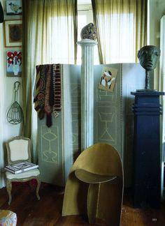 Designer Frédéric de Luca's Paris apartment