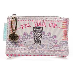 Papaya Art Fill Your Cup Coin Purse | Womens Accessories