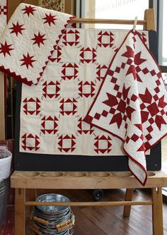 Red and White Quilts - Sheryl Johnson