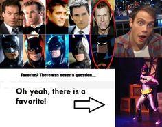 Starkid ~ Holy Musical B@tman Joe Walker = best Batman. And Brian Holden is the best Superman