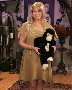 """For the very first Halloween special on """"The Martha Stewart Show"""" in 2005, Martha dressed up as Jane of the Jungle. Accompanied by a stuffed chimpanzee, she made a grand entrance by swinging on a vine to start the show. Martha has long been a fan of author Edgar Rice Burroughs's Tarzan series."""