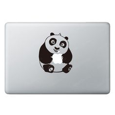 Panda decal for Apple products.