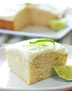 Fresh Key Lime Cake!
