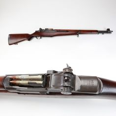 "M1 Garand rifle - The battle rifle that turned the Axis tide was the M1 Garand rifle. Manufactured by Springfield Armory and Winchester, the Garand fought through the bocage in Europe and up sandy beaches in the Pacific. Veterans that carried this semi-automatic arm may recall the dreaded ""M1 thumb"" injury that could happen during loading. Others will never forget firing eight shots and the resulting ""ping"" as the en-bloc clip ejected from the receiver."