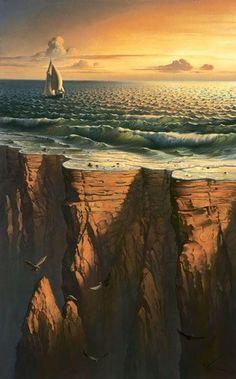 ~Sueña como si fueses a vivir siempre y vive como si fueses a morir hoy.~  The Amazing Surreal Art by Vladimir Kush | Draw As A Maniac