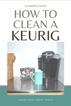 Did you know that you can clean your Keurig in just 15 minutes? Even if you thought it was broken, it might just need a cleaning to work like new again. Weekly Cleaning Checklist, Deep Cleaning Tips, Cleaning Hacks, Organize Your Life, Keurig, Spring Cleaning, Step By Step Instructions, Homemaking, Clean House