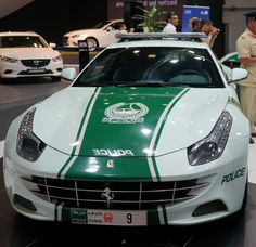 Ferrari FF police car in Dubai, one of many luxury cars in the Dubai fleet. Dubai Life, Most Expensive, Ford Motor Company, Car In The World, Police Cars, Luxury Life, Car Ins, Motorbikes, Luxury Cars