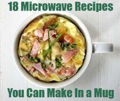 18 Microwave Mug Recipes, @Lydia Squire Squire Galbraith