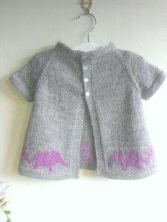 Ellybobs cardigan - available on Ravelry