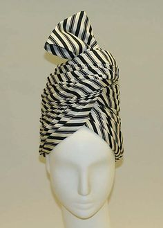 Emme, silk turban, 1958.
