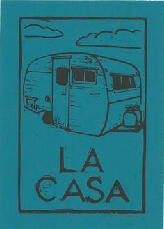 La Casa by CornflowerPress on Etsy, $14.00
