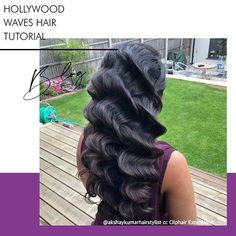 Despite being the most sculpted wavy hairstyle, Hollywood waves are actually one of the easiest curly hairstyles to achieve. Read our handy tutorial on how to achieve these sumptuous glamour waves with just a wand or curling tong.