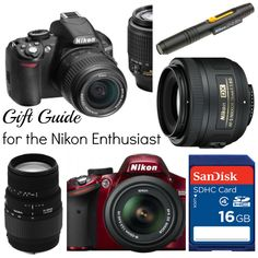 Gift Guide for the Nikon Enthusiast