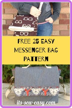 Looking for some great messenger bag patterns to work on? You're in the right place. You can start on these free 25 easy messenger bag patterns now! In just a couple of evenings, you can make these impressive bags. All you have to do is give the pattern a try. It's also a great project for experienced sewers looking to take a break from technical projects. Once complete. the bag looks like a masterpiece. #messengerbagpatterns#freepatterns#freesewingpatterns#sewingforhome#sewingbagpatterns Work On Yourself, Finding Yourself, Messenger Bag Patterns, Creative Outlet, Kids Bags, Gifts For Friends, Easy, Projects, Free