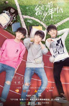 Boyhood chiếu trên kênh Hồ Nam- TQ vào 18h30' (giờ VN) vào thứ 2 đến 5. Mỗi ngày 2 tập. Mong mọi người ủng hộ 3 bạn nhỏ nhé!!!!