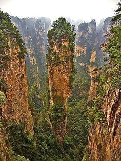 Wullingyuan Canyon, China -