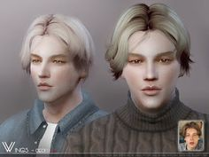 Sims 4 CC's - The Best: Male Hair by Wingssims The Effective Pictures We Offer You About clothes for teens shopping A quality picture can tell you many things. You can find the most beautiful pictures Sims 4 Hair Male, Sims Hair, The Sims 4 Pc, Sims Cc, Muebles Sims 4 Cc, Ginger Beard, Sims 4 Cc Finds, Sims Mods, Bride Hairstyles
