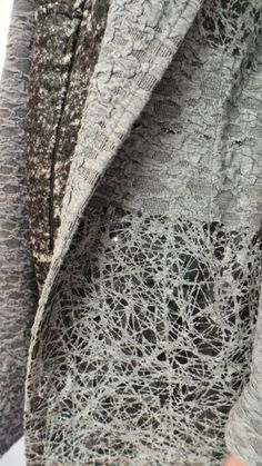 Innovative textiles for fashion with pattern & textures inspired by nature; fashion detail; fabric manipulation // Tramando