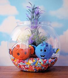 Adorable Finding Nemo Tsum Tsum display from @Disney_At_Home