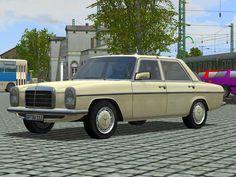#Mercedes #Benz 220D #Taxi, W 115. Ab #EEP8